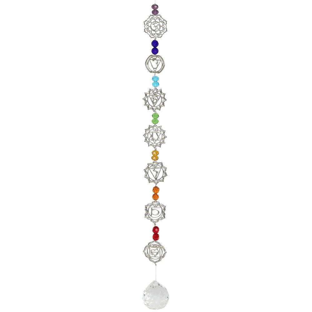 50 cms Hanging Crystal - Chakra - Enchanted Gifts by Karen