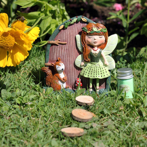 Scarlet and Sybil Fairy Door Ornament - Enchanted Gifts by Karen