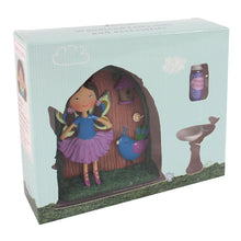 Load image into Gallery viewer, Phoebe and Teal Fairy Door Ornament - Enchanted Gifts by Karen