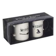 Load image into Gallery viewer, Witch and Wizard Mug set - Enchanted Gifts by Karen