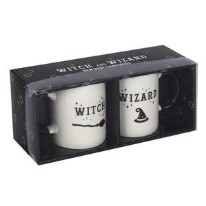 Witch and Wizard Mug set - Enchanted Gifts by Karen