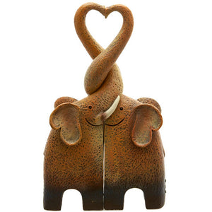 Elephant Love Duo Ornament - Enchanted Gifts by Karen