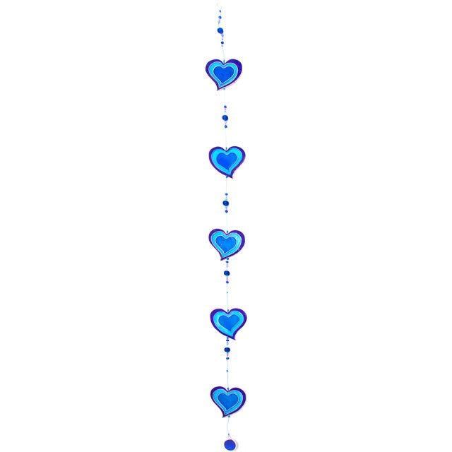 Blue Hearts Suncatcher - Enchanted Gifts by Karen
