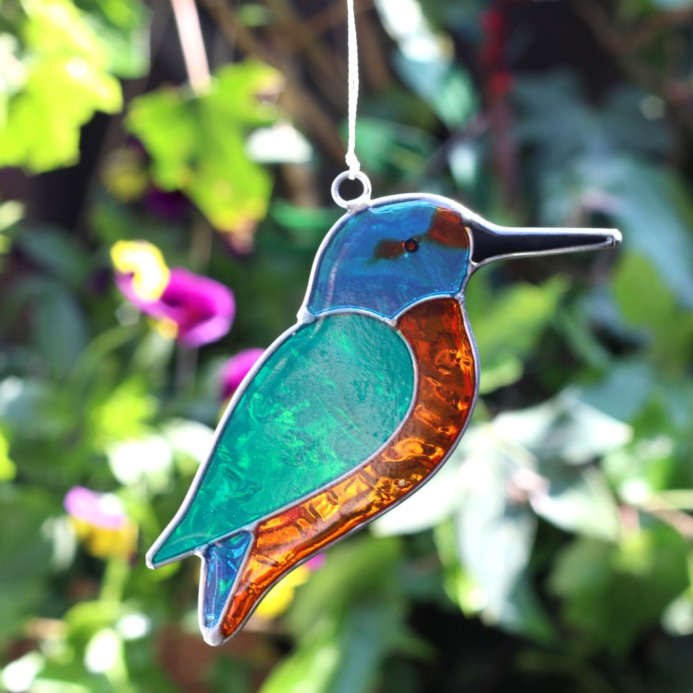 British Bird Suncatcher - Enchanted Gifts by Karen