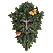 Load image into Gallery viewer, Leafy Green Man Wall Plaque - Enchanted Gifts by Karen