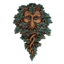 Load image into Gallery viewer, Green Man Wall Plaque 19 x 13cm - Enchanted Gifts by Karen