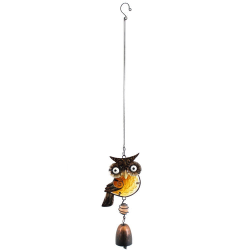 Owl Dangly Windchime - Enchanted Gifts by Karen