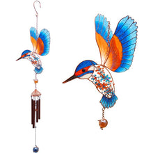 Load image into Gallery viewer, Kingfisher Windchime - Enchanted Gifts by Karen