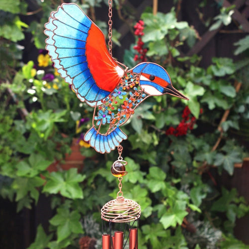 Kingfisher Windchime - Enchanted Gifts by Karen