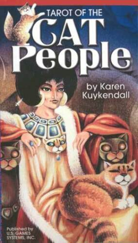 Tarot Of The Cat People - Enchanted Gifts by Karen