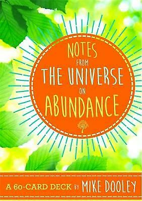 Notes From the Universe on Abundance - Enchanted Gifts by Karen