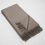 Lambswool Angora Throw - Stag