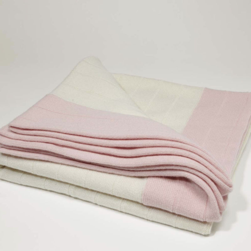 The Ribbed Cashmere Throw - Josephine Home