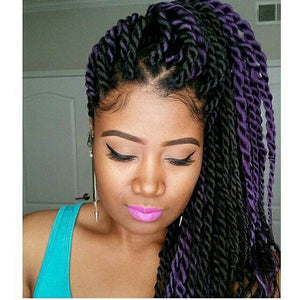 Tresses africaines et twists vanille