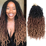Dreadlocks crochet braids