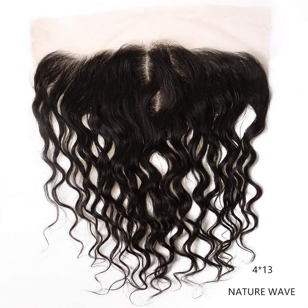 Lace Frontale Natural wave Couleur Noire