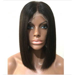 Perruque FRONT LACE BOB long - Amaia