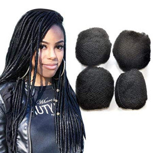 Mèches Afro kinky pour extension des locks
