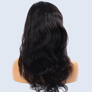 Full lace perruque -bresilienne -Body wave -Noir