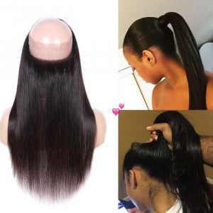 360 Lace Frontal lisse