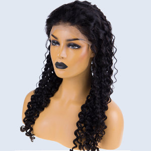 Perruque Front lace italy curly - Brenda Lace