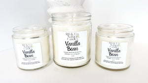Vanilla Bean | Natural Soy Candle | Hand-Poured
