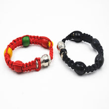 Load image into Gallery viewer, Portable Metal Bracelet Smoking Pipe Herb Weed
