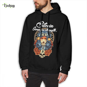 Man's 3D Print Modern Bitcoin Shaman Sweatshirt Novelty Streetwear For Boy