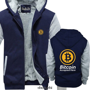 Bitcoin Accepted Here Crypto Currency hoodie BTC Privacy Trading Lambo Moon men summer hoodies male brand coat sbz3378
