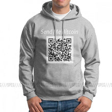Load image into Gallery viewer, Stylish Hoodies Man Crypto Currency Hoodie Send Me Bitcoin Purified Cotton Sweatshirt Wholesale Hoodie Shirt