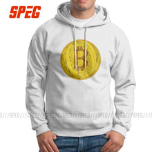 Load image into Gallery viewer, Funny Hoodie Men's Bitcoin Doodle Art Cryptocurrency Purified Cotton Hooded Sweatshirt Summer Style Pullovers
