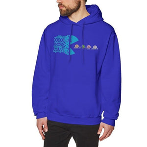 Bitcoin Long sleeve Hot sale Round Neck Hoodies Unisex High-Q Hoodies O-neck