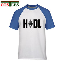 Load image into Gallery viewer, Hodl Ethereum T Shirt Men Male Leisure T-shirt bticoin Customized oversize Ethereum Cryptocurrency tshirt Camiseta masculina Tee