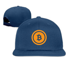 Load image into Gallery viewer, SAMCUSTOM cap baseball cap Side 3D printing bitcoin Casual cap gorras hip hop snapback hats wash cap unisex