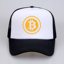 Load image into Gallery viewer, New Men Women Trucker Cap Hat BitCoin Bit Coin Mining Funny Baseball caps  Summer Hip Hop Mesh Cool Caps Hat for Youth