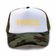 Load image into Gallery viewer, HODL Bitcoin Hat 100% Cotton Dad Hat Trending Rare Baseball Cap Bitcoin Sign Printing Snapback Cap Tumblr HipHop Men Women