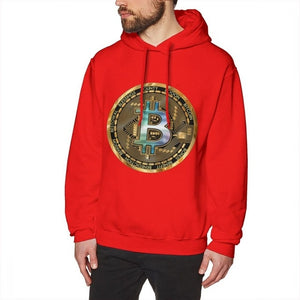 2018 New Arrival Bitcoin Crypto Long Sleeve Popular Top Design For Male