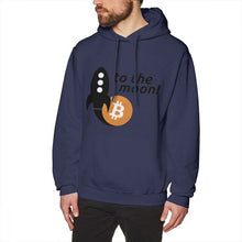 Load image into Gallery viewer, Popular Bitcoin To The Moon Long Sleeve Casual 3D Print For Male