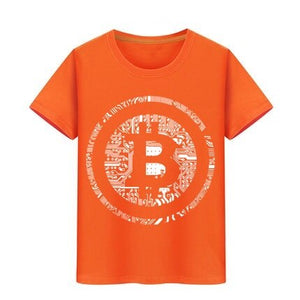 Kids T-shirt Bitcoin Cryptocurrency Cyber Currency Financial Revolution T Shirt Boy Girl Tshirt Children Teeshirts baby top tees