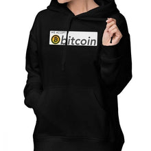 Load image into Gallery viewer, We Accept Bitcoin Hoodie We Accept Bitcoin Hoodies Streetwear Printed Hoodies Women Sexy Cotton White Pullover Hoodie