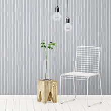 Load image into Gallery viewer, Customise Colour:  Hand Drawn Striped Wallpaper