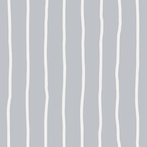 Customise Colour:  Hand Drawn Striped Wallpaper