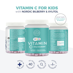 Kids Vitamin C with Bilberry