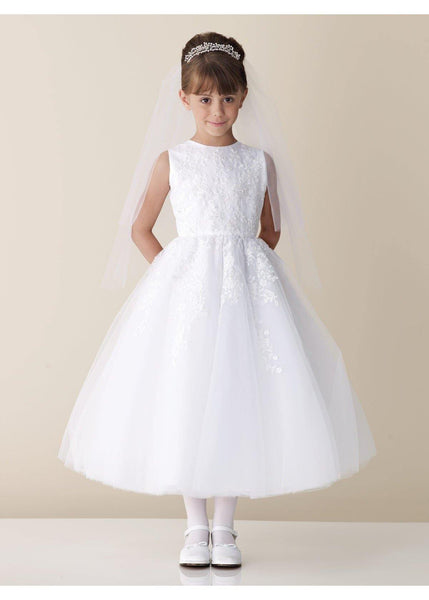 Joan Calabrese Communion Dress Style 110325 €330 - Elliott Chambers    - Bridal -  Debs Dresses -  Communion dresses