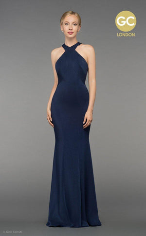 GC2862C Navy - Elliott Chambers    - Bridal -  Debs Dresses -  Communion dresses