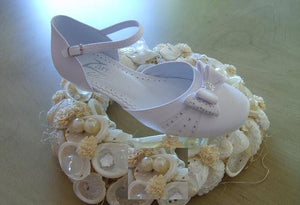 Communion Shoes Style 846 €40 - Elliott Chambers    - Bridal -  Debs Dresses -  Communion dresses