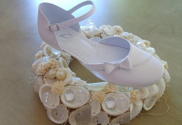 Communion Shoes Style 747 €40 - Elliott Chambers    - Bridal -  Debs Dresses -  Communion dresses
