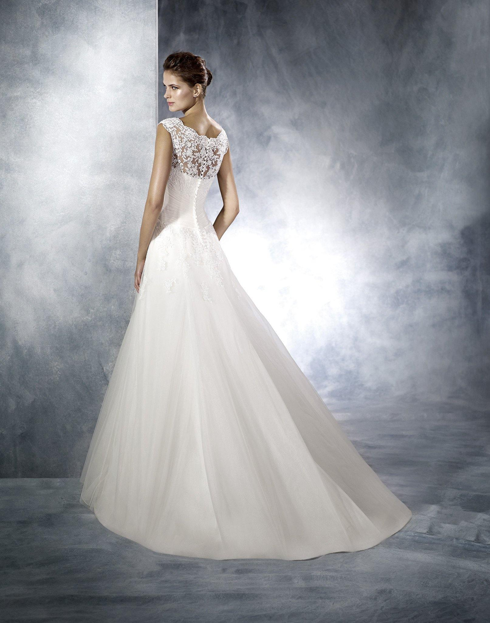 Pronovia White One - Daila Sample €500 - Elliott Chambers    - Bridal -  Debs Dresses -  Communion dresses
