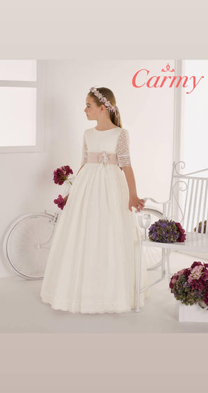 Communion Dress Style 639-Elliott Chambers - Dundrum-ELLIOTT CHAMBERS DUNDRUM COMMUNION DRESSES 2021