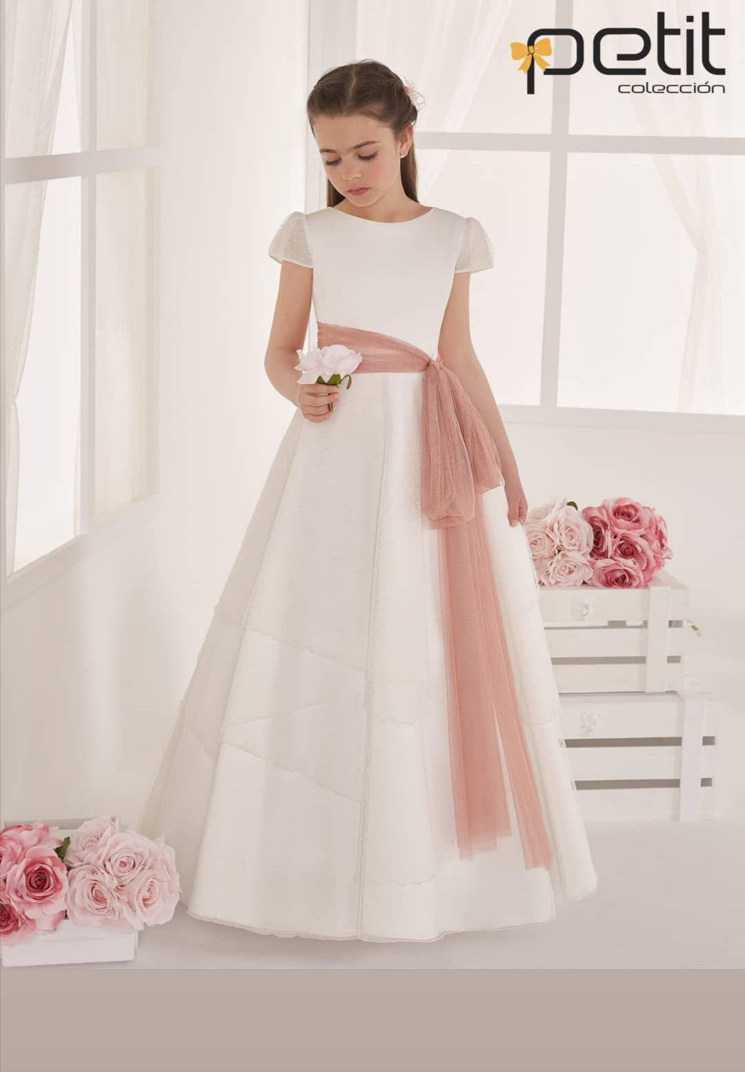 COMMUNION DRESS RUBY